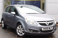 USED 2009 C VAUXHALL CORSA 1.4 DESIGN 16V TWINPORT 5d 90 BHP