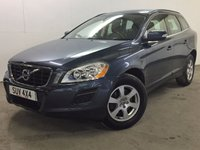 USED 2011 11 VOLVO XC60 2.4 D5 SE AWD 5d 212 BHP PANORAMIC ROOF LEATHER PRIVACY FSH 4WD. PANORAMIC SUNROOF. STUNNING BLUE MET WITH PART BLACK LEATHER TRIM. HEATED SEATS. CRUISE CONTROL. 17 INCH ALLOYS. COLOUR CODED TRIMS. PARKING SENSORS. ELECTRIC TAILGATE. CLIMATE CONTROL. R/CD PLAYER. 6 SPEED MANUAL. MFSW. MOT 07/18. FULL SERVICE HISTORY. FCA FINANCE APPROVED DEALER. TEL 01937 849492.