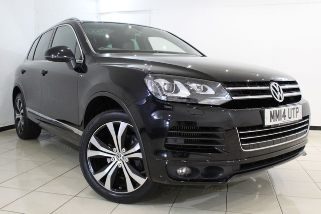 View our 2014 14 VOLKSWAGEN TOUAREG 3.0 V6 R-LINE TDI BLUEMOTION TECHNOLOGY 5DR AUTOMATIC 242 BHP