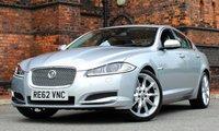 2012 JAGUAR XF 3.0 D V6 PREMIUM LUXURY 4d AUTO 240 BHP £16475.00