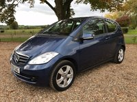 USED 2009 59 MERCEDES-BENZ A CLASS 1.5 A160 BLUEEFFICIENCY CLASSIC SE 3d 95 BHP