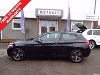2012 BMW 1 SERIES 1.6 116I SPORT 3DR HATCHBACK 135 BHP £10200.00