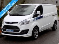USED 2013 63 FORD TRANSIT CUSTOM TREND 2.2 FWD 290 LWB L2H1 LOW ROOF 125BHP 6 SPEED 2 Owners, Full Service History