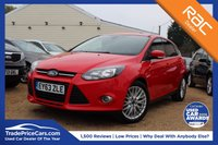 USED 2013 63 FORD FOCUS 1.6 ZETEC TDCI 5d 113 BHP bluetooth, 6 months warranty & more