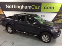 2015 FORD RANGER 3.2 TDCi Wildtrak Double Cab Pickup 4x4 4dr (EU5) £19995.00