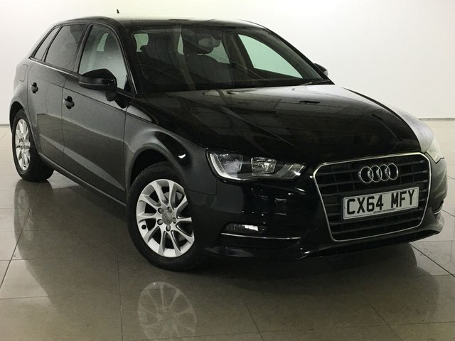 View our 2014 64 AUDI A3 2.0 TDI SPORT 5d 148 BHP