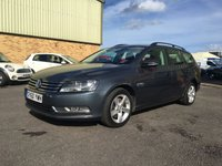 2011 VOLKSWAGEN PASSAT 1.6 S TDI BLUEMOTION TECHNOLOGY 5d 104 BHP £5495.00