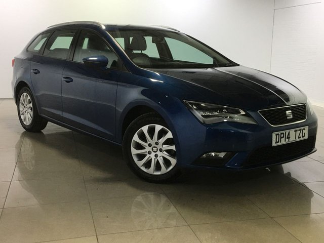 View our 2014 14 SEAT LEON 2.0 TDI SE TECHNOLOGY 5d 150 BHP