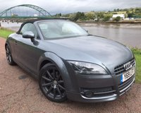 USED 2008 08 AUDI TT 2.0 TFSI 2d 200 BHP 18 INCH TEN SPOKE ALLOYS