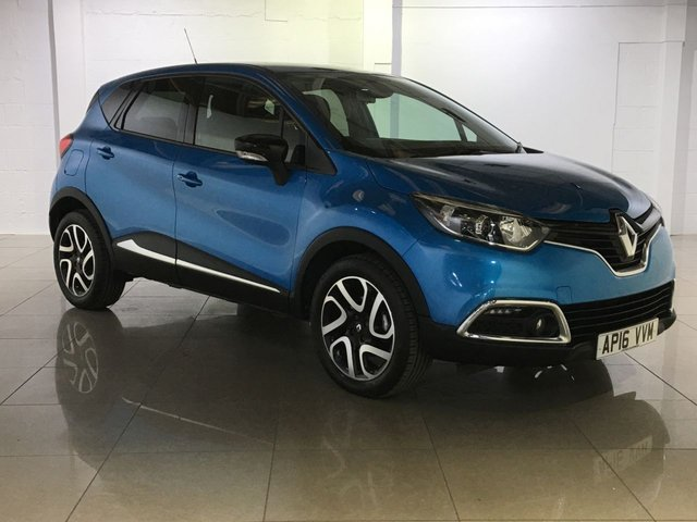 View our 2016 16 RENAULT CAPTUR 1.5 DYNAMIQUE S NAV DCI 5d AUTO 90 BHP