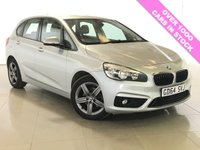 USED 2015 64 BMW 2 SERIES 2.0 218D SPORT ACTIVE TOURER 5d AUTO 148 BHP One Owner From New/Bluetooth