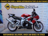USED 2002 52 YAMAHA R6  GOOD & BAD CREDIT ACCEPTED, OVER 500+ BIKES IN STOCK
