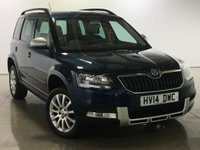 USED 2014 14 SKODA YETI 2.0 OUTDOOR SE TDI CR 5d 109 BHP One Owner From New/Stunning