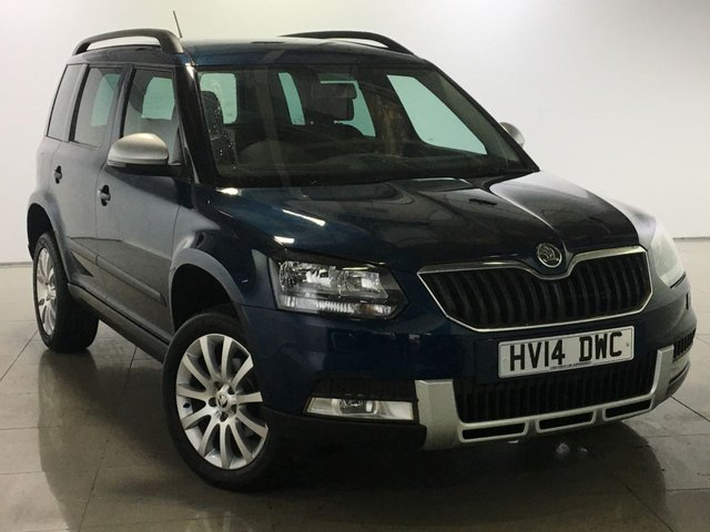 View our 2014 14 SKODA YETI 2.0 OUTDOOR SE TDI CR 5d 109 BHP