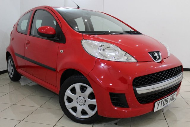 View our 2009 09 PEUGEOT 107 1.0 URBAN 5DR 68 BHP