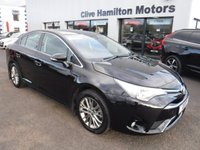 USED 2017 17 TOYOTA AVENSIS 1.6 D-4D BUSINESS EDITION 4d 110 BHP NAV & CAMERA
