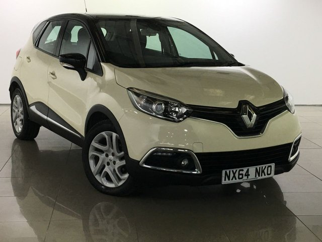 View our 2014 64 RENAULT CAPTUR 1.5 DYNAMIQUE MEDIANAV ENERGY DCI S/S 5d 90 BHP