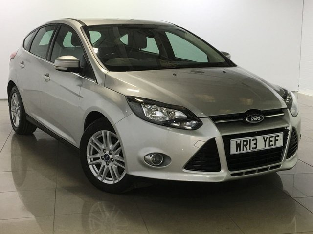 View our 2013 13 FORD FOCUS 1.6 TITANIUM TDCI 115 5d 114 BHP