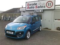 USED 2012 12 CITROEN C3 PICASSO 1.6 PICASSO CODE HDI 5d 90 BHP £28 PER WEEK NO DEPOSIT, SEE FINANCE LINK BELOW