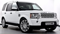 USED 2013 63 LAND ROVER DISCOVERY 4 3.0 SD V6 HSE 5dr Auto [8] Stunning Looks with Great Spec