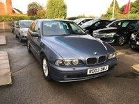 USED 2003 03 BMW 5 SERIES 3.0 530I SE 4d AUTO 228 BHP