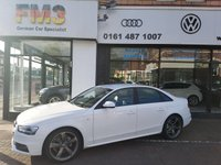 USED 2013 13 AUDI A4 2.0 TDI 143 Black Edition 4dr Multitronic SPECIAL EDITION