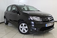 USED 2014 64 DACIA SANDERO 1.5 LAUREATE DCI 5DR 90 BHP SERVICE HISTORY + AIR CONDITIONING + CRUISE CONTROL + AUXILIARY PORT + RADIO/CD + ALLOY WHEELS