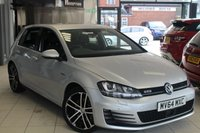 USED 2014 64 VOLKSWAGEN GOLF 2.0 GTD 5d 181 BHP FULL VW SERVICE HISTORY + BLUETOOTH + 18 INCH ALLOYS + £20 ROAD TAX + ADAPTIVE CRUISE CONTROL + PARKING SENSORS + AIR CONDITIONING + AUTOMATIC LIGHTS + XENON HEADLIGHTS