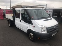 USED 2009 09 FORD TRANSIT 350 Double Cab Tipper 140PSi