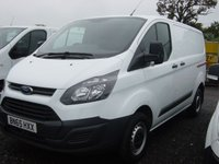 2015 FORD TRANSIT CUSTOM 2.2 290 VAN LR P/V 1d 99 BHP VAN ONLY 26000 MILES £SOLD
