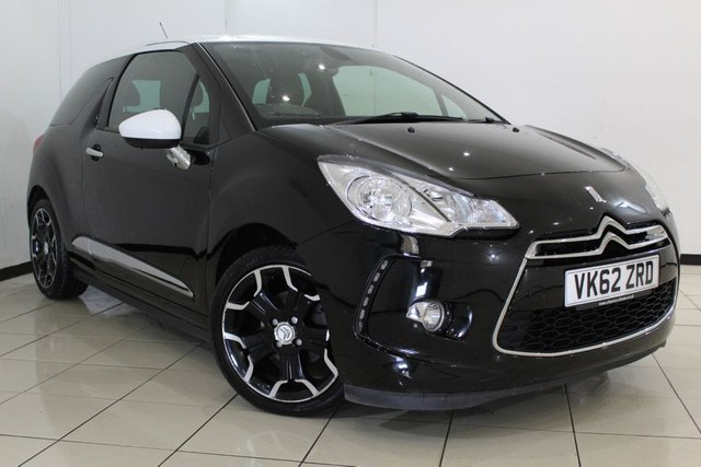 View our 2012 62 CITROEN DS3 1.6 E-HDI DSTYLE PLUS 3DR 90 BHP