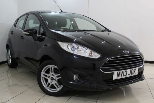 View our 2013 13 FORD FIESTA 1.2 ZETEC 5DR 81 BHP