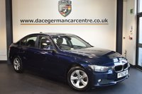 USED 2013 62 BMW 3 SERIES 2.0 320D EFFICIENTDYNAMICS 4DR 161 BHP + FULL SERVICE HISTORY  + 1 OWNER FROM NEW + BLUETOOTH + CRUISE CONTROL + RAIN SENSORS + DAB RADIO + PARKING SENSORS + 17 INCH ALLOY WHEELS +