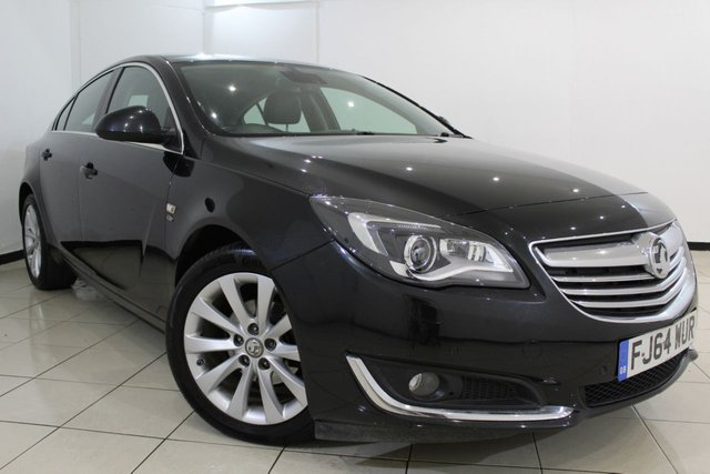 View our 2014 64 VAUXHALL INSIGNIA 2.0 ELITE NAV CDTI ECOFLEX S/S 5DR 138 BHP