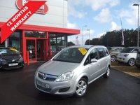 2009 VAUXHALL ZAFIRA 1.6 EXCLUSIV 5d 105 BHP £3595.00