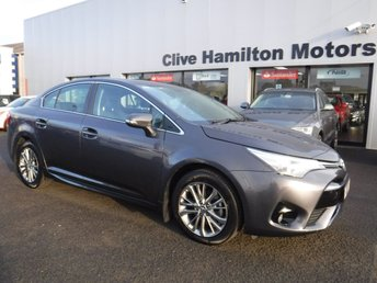2017 TOYOTA AVENSIS 1.6 D-4D BUSINESS EDITION 4d 110 BHP £13995.00