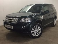 USED 2013 13 LAND ROVER FREELANDER 2 2.2 SD4 XS 5d AUTO 190 BHP FACELIFT SAT NAV LEATHER PRIVACY PDC 4WD. FACELIFT MODEL. SATELLITE NAVIGATION. STUNNING GREEN MET WITH FULL BLACK LEATHER TRIM. HEATED SEATS. CRUISE CONTROL. 18 INCH ALLOYS. COLOUR CODED TRIMS. PRIVACY GLASS. PARKING SENSORS. BLUETOOTH PREP. CLIMATE CONTROL. TRIP COMPUTER. R/CD PLAYER. MFSW. MOT 07/18. ONE PREV OWNER. SERVICE HISTORY. FCA FINANCE APPROVED DEALER. TEL 01937 849492.