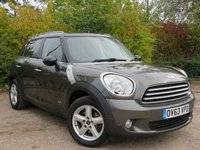 USED 2013 63 MINI COUNTRYMAN 1.6 COOPER D ALL4 5d 112 BHP 1 OWNER, MAIN DEALER HISTORY!