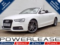 USED 2013 63 AUDI A5 2.0 TDI S LINE SPECIAL EDITION 2d 175 BHP AIRSCARF DAB HEATED LEATHER CRUISE CONT