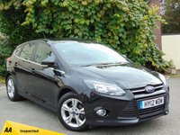 USED 2012 12 FORD FOCUS 1.6 ZETEC TDCI 5d  **£20 ROAD TAX / ECONOMICAL**128 POINT AA INSPECTED**