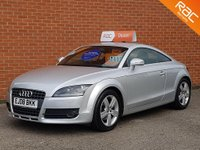 2008 AUDI TT 2.0 TFSI 3d 200 BHP FULL BLACK LEATHER £6495.00
