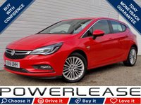 USED 2016 16 VAUXHALL ASTRA 1.4 ELITE 5d 148 BHP BLACK FRIDAY WEEKEND EVENT DAB BLUETOOTH CRUISE CONT FSH