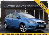 USED 2009 59 FORD FOCUS 1.6 ZETEC 5d AUTO 100 BHP LOW MILEAGE AUTOMATIC WITH FULL SERVICE HISTORY