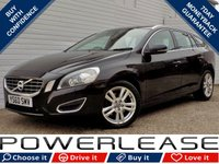 USED 2011 60 VOLVO V60 2.0 D3 SE LUX 5d 161 BHP SAT NAV HEATED LEATHER DAB CRUISE