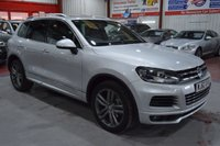 USED 2012 62 VOLKSWAGEN TOUAREG 3.0 V6 ALTITUDE TDI BLUEMOTION TECHNOLOGY 5d AUTO 202 BHP