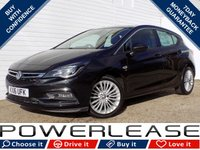 USED 2016 16 VAUXHALL ASTRA 1.4 ELITE 5d 148 BHP P/SENSORS CRUISE LEATHER SEATS