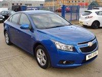 2011 CHEVROLET CRUZE 1.6 LS 4d AUTO 124 BHP £4000.00