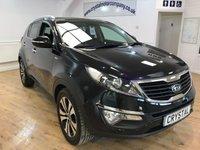 2013 KIA SPORTAGE 2.0 KX-4 CRDI 5d 181 BHP £13995.00
