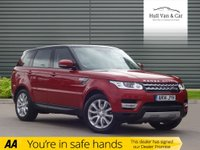 USED 2014 14 LAND ROVER RANGE ROVER SPORT 3.0 SDV6 HSE 5d AUTO 288 BHP ONE OWNER, SAT NAV, LEATHER