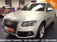 USED 2011 61 AUDI Q5 2.0 TDI DIESEL QUATTRO S LINE AWD F.A.S.H - LEATHER - H.SEATS - SAT NAV - REAR BLINDS